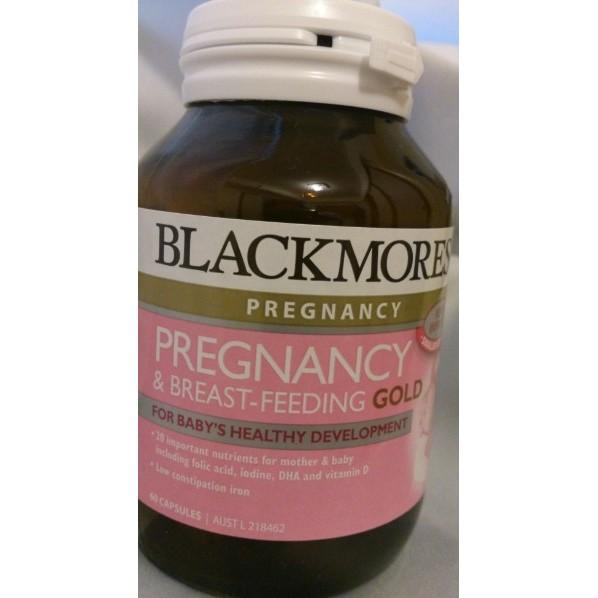 補貨中_ 澳洲Blackmores 孕哺媽媽 維生素60 顆已含DHA 魚油葉酸_ 孕婦維