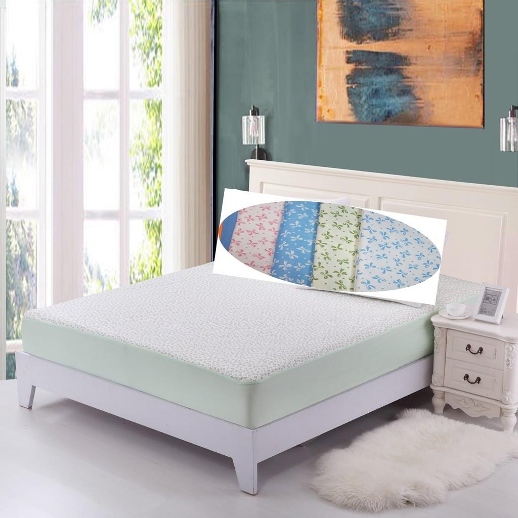 妞寶 館全棉印花款隔尿墊~U014 15 ~雙人床包加大單人床包防水保潔墊看護墊絕對不漏