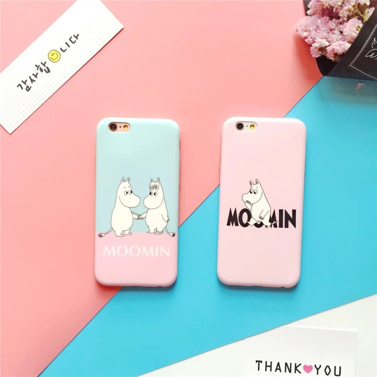 iPhone6 6s 6plus 6splus 可愛嚕嚕米moomin 卡通姆明保護殼蘋果