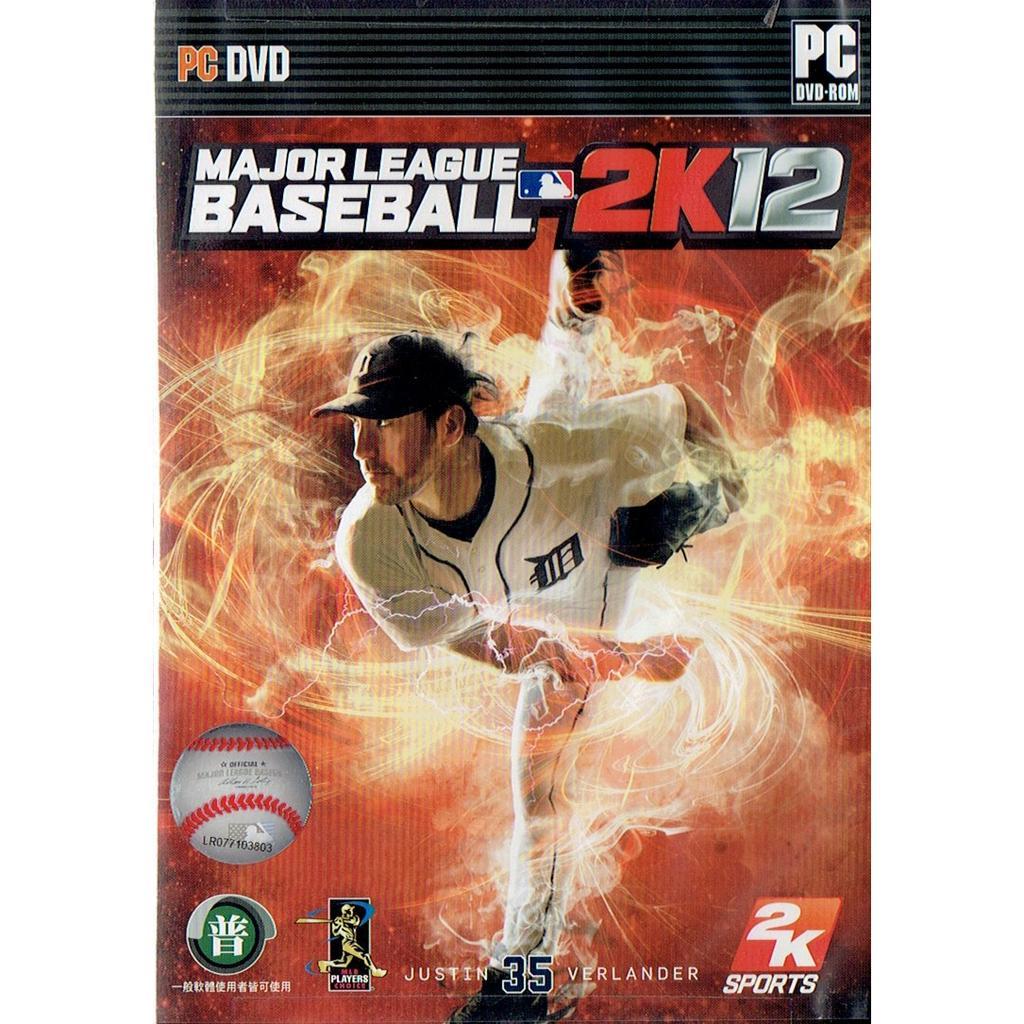 PC 版~MLB 2K12 美國職棒大聯盟~英文版
