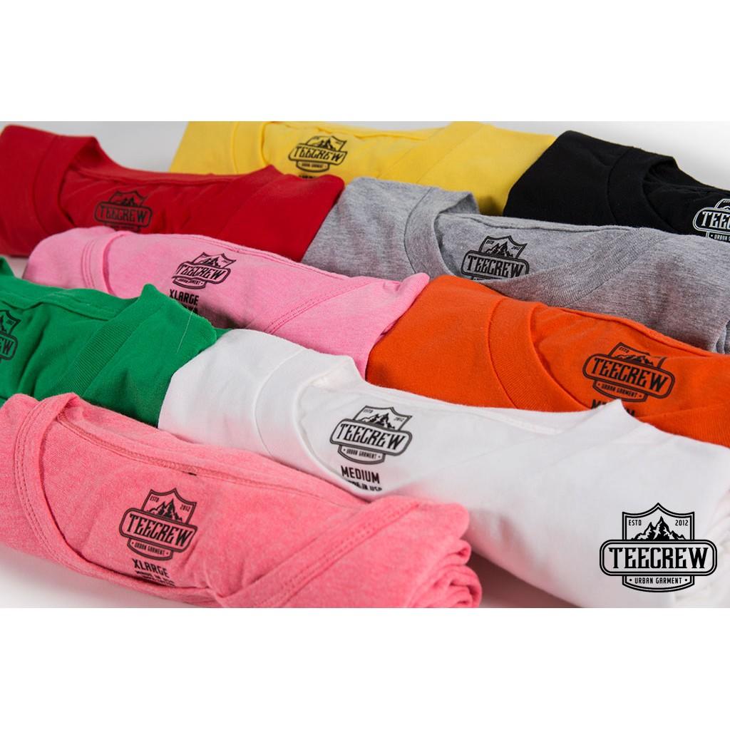 最 只要200 元TEECREW ~短T 棉T 美式素色滾筒短T 男女短袖T 恤