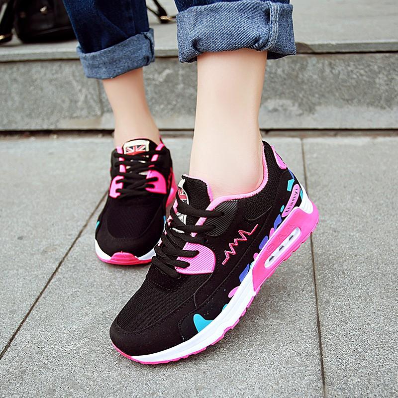 休閒舒適氣墊鞋 鞋慢跑鞋