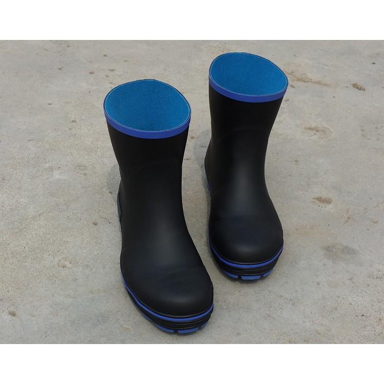 工廠直銷外銷高檔鋼頭防砸雨鞋中筒工作安全雨鞋防滑雨鞋釣魚雨鞋安全鞋39 50 碼