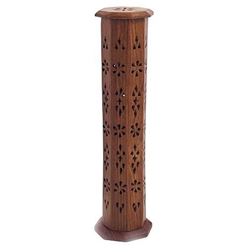 幾何館印度線香盒大款線香塔香兩用印度 直立式香盒附塔香及線香試用