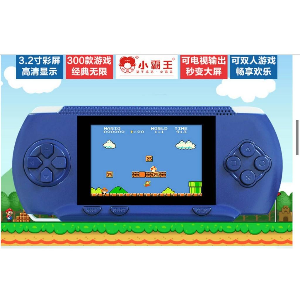 遊戲機小霸王psp 小霸王RS 80 兒童彩屏益智雙人遊戲機掌上機