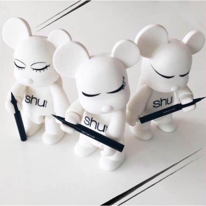 Shu uemura 植村秀2016 新 超精準流線筆組(筆管筆蕊)顏色自選黑棕 舊筆管也