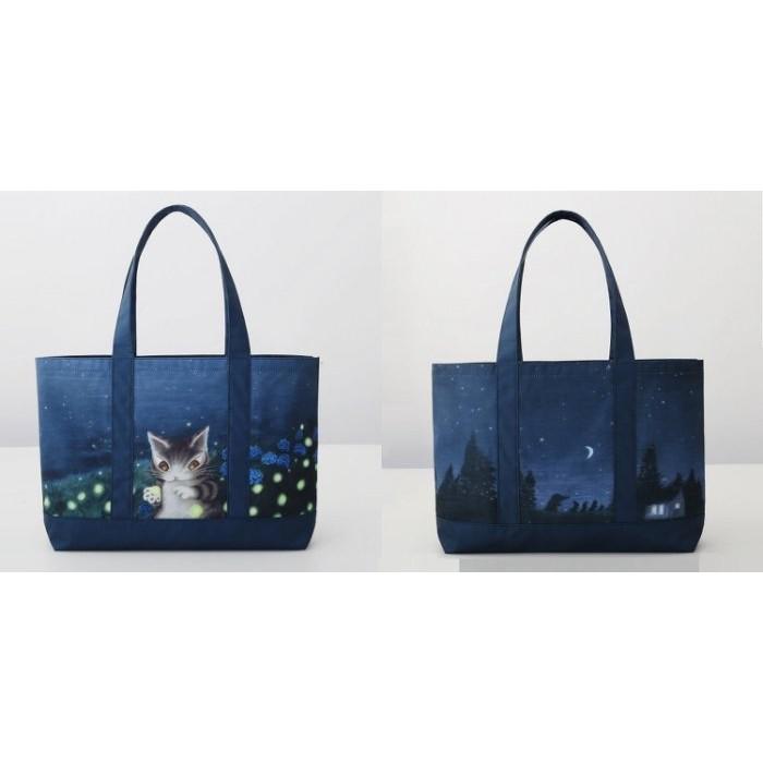 ~Lime cat ~日雜達洋貓與WachiField 瓦奇菲爾德的世界繪本附錄大型托特包