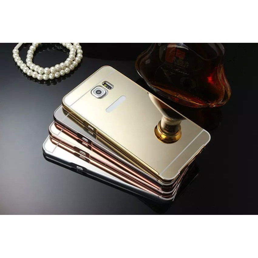 Note2 Note3 Note4 Note5 金屬邊框鏡面背蓋電鍍手機殼鏡殼