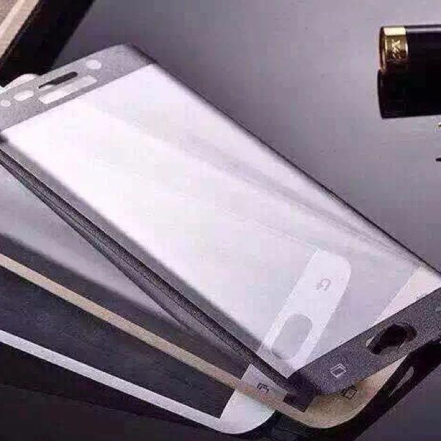 庫存 中S6 Edge 3D 曲面全包覆鋼化玻璃