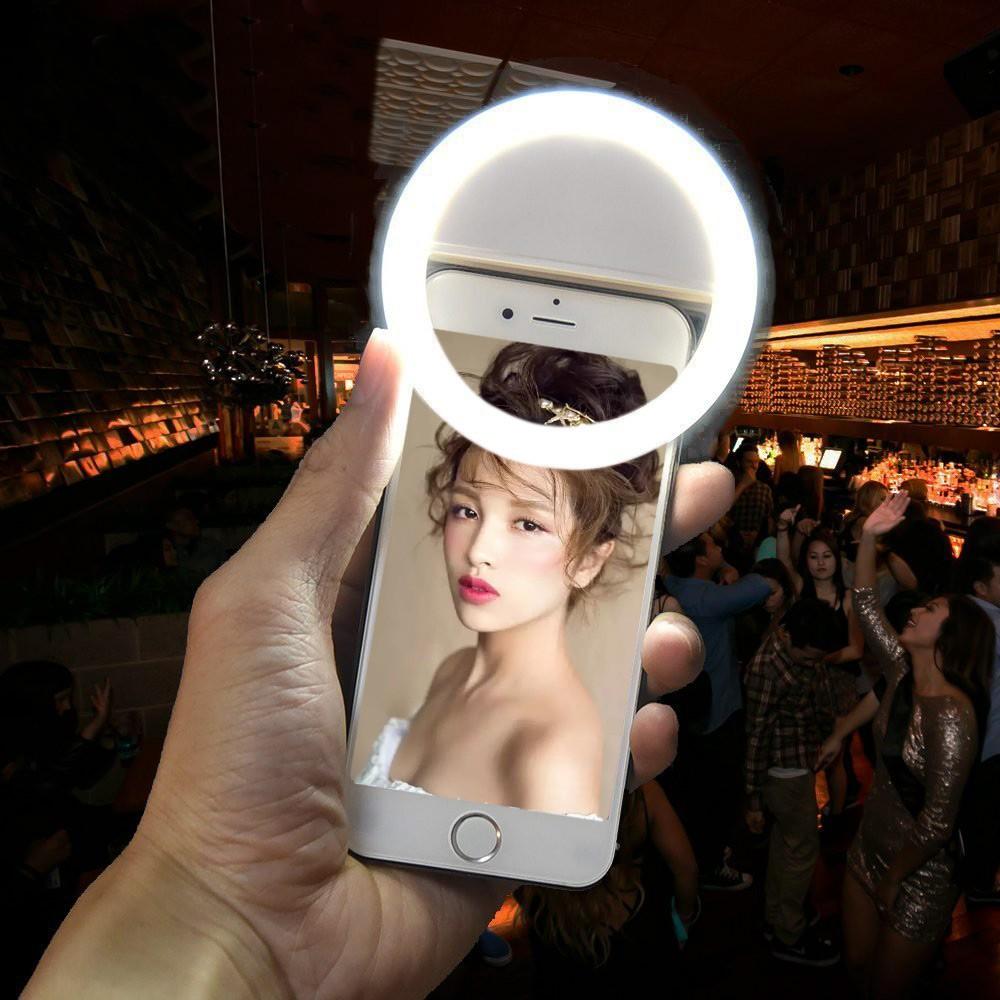 MOCA 手機直播補光燈美顏瘦臉LED 美少女閃光燈你的隨身打光師