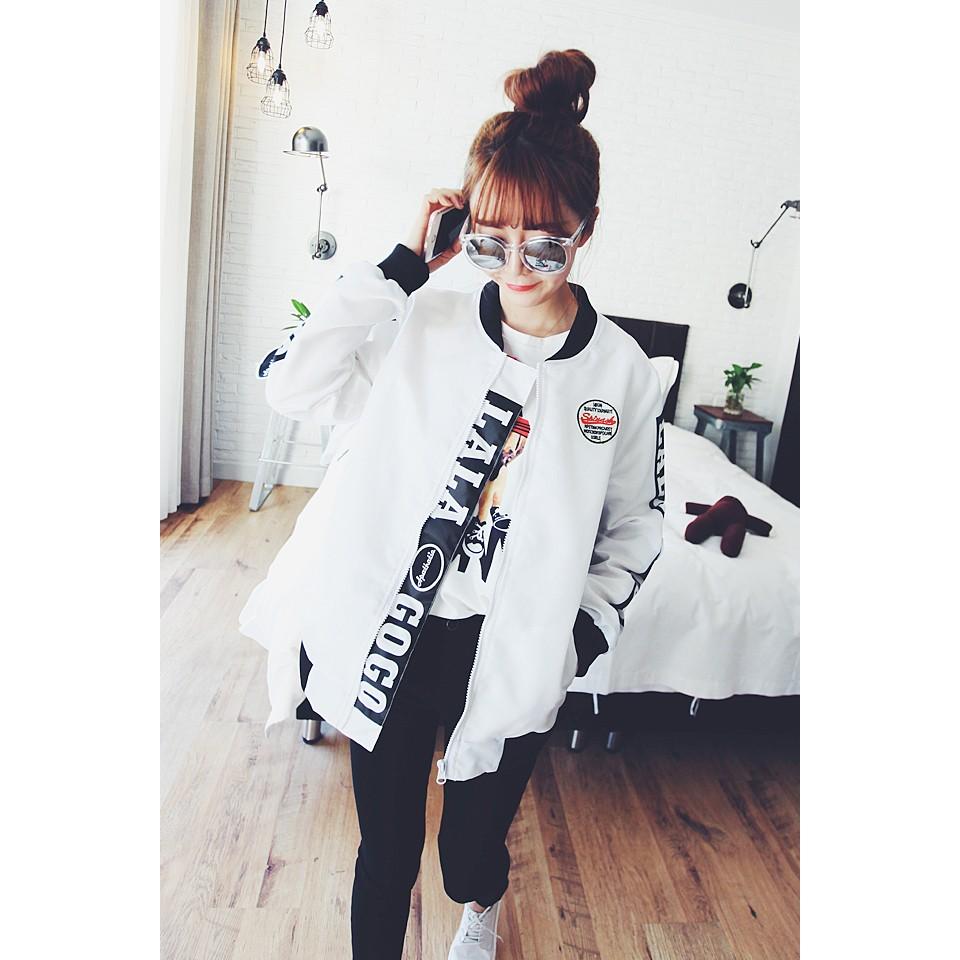 每件299 !!情侶款布章刺繡潮酷韓流潮酷外套