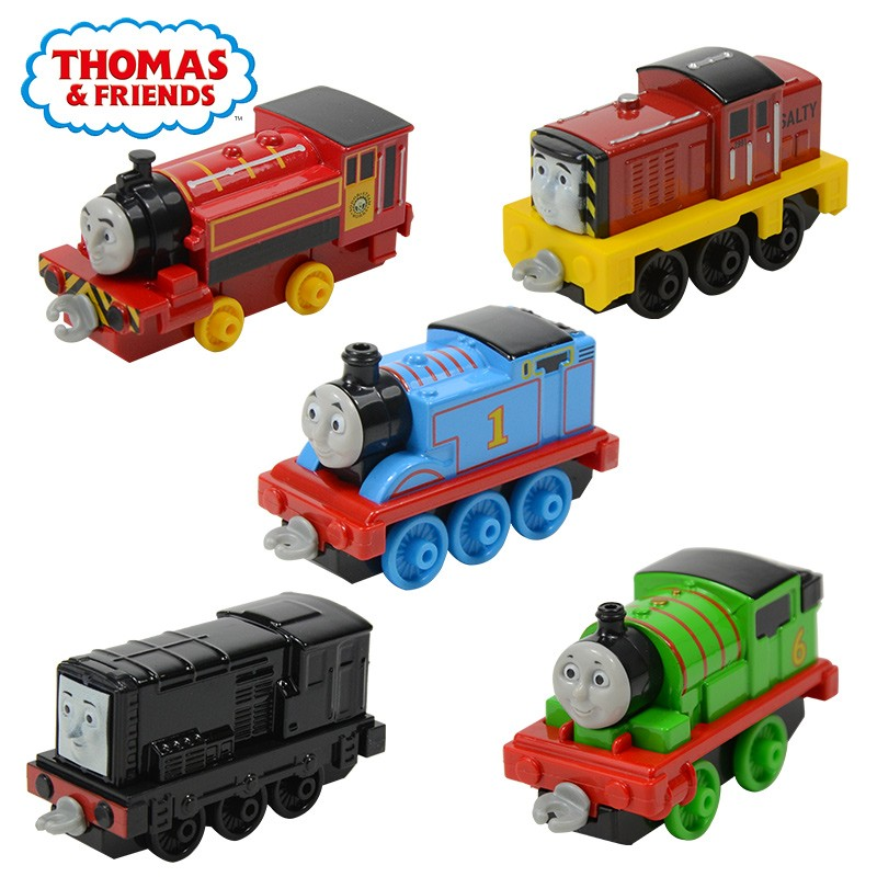 托馬斯和朋友合金小火車BHR64 托馬斯小火車頭兒童慣性玩具火車