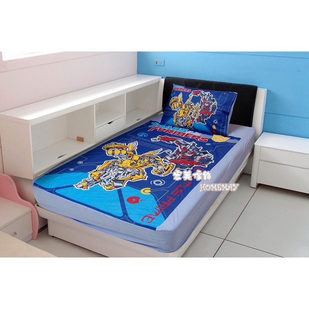 ~宏美傢飾~兒童睡袋單人涼被床包被套小童枕變形金剛卡通  幼稚園