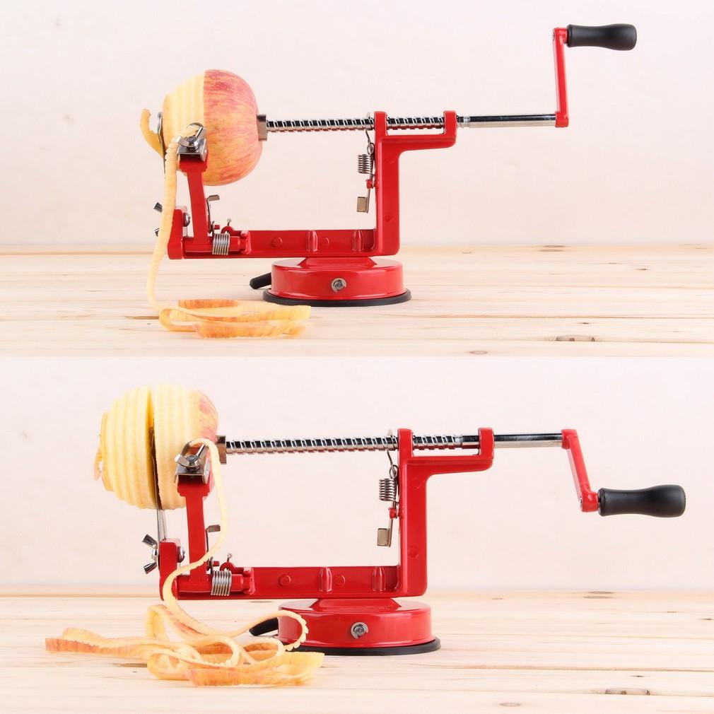 三合一多 手搖蘋果削皮器削蘋果機水果削皮刀去皮去核切片削蘋果購買請選黑貓宅配