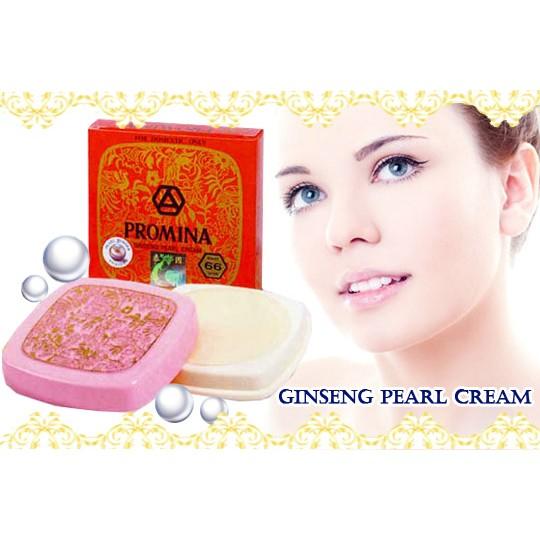 泰國保美雅PROMINA 人蔘珍珠膏珍珠霜