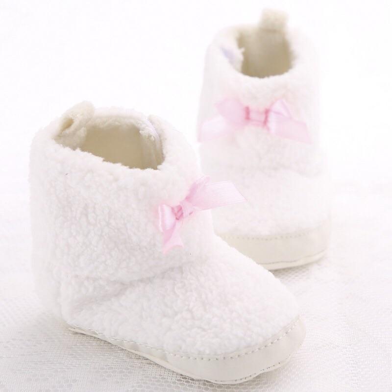 曈曈Baby 新品女寶寶雪靴小靴子0 1 歲babyBoots 外貿寶寶外貿鞋嬰兒學步鞋