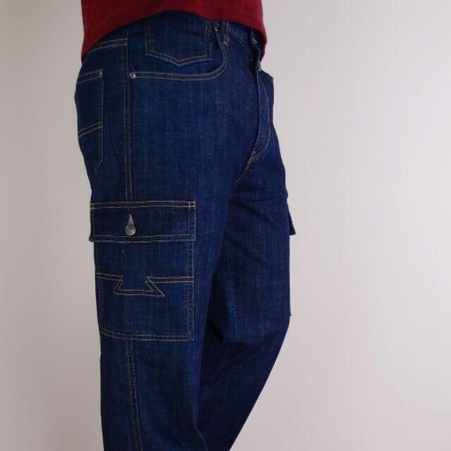 小工廠~6163 ~重磅多袋長褲工作褲超耐摩寬鬆舒適