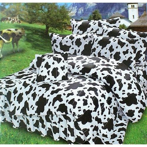 雁渟屋 精梳混紡棉 乳牛款~床包、床罩、床單✨可訂製MIT