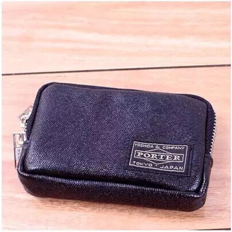 吉田porter 零錢包帆布包鑰匙包男包短款女士硬幣錢包