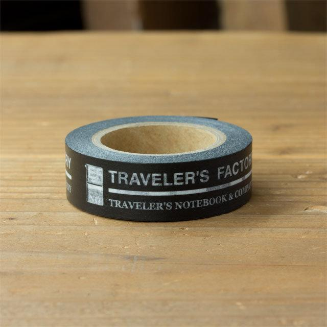 TRAVELER s notebook Factory 限定官方標誌紙膠帶