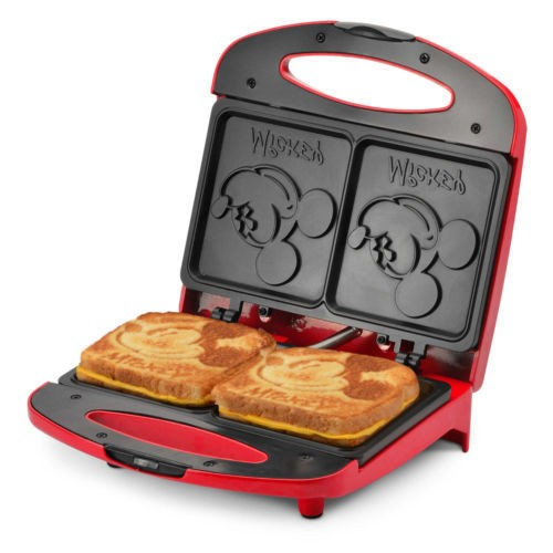 ~美國連線嗨心購~官方正貨美國迪士尼Mickey 米奇三明治吐司機-小朋友跟大人都超級愛!