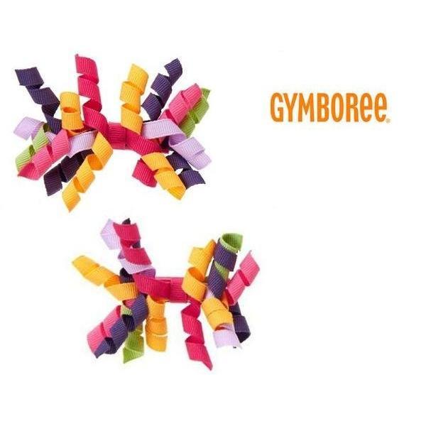 Gymboree 彩色捲捲安全髮夾