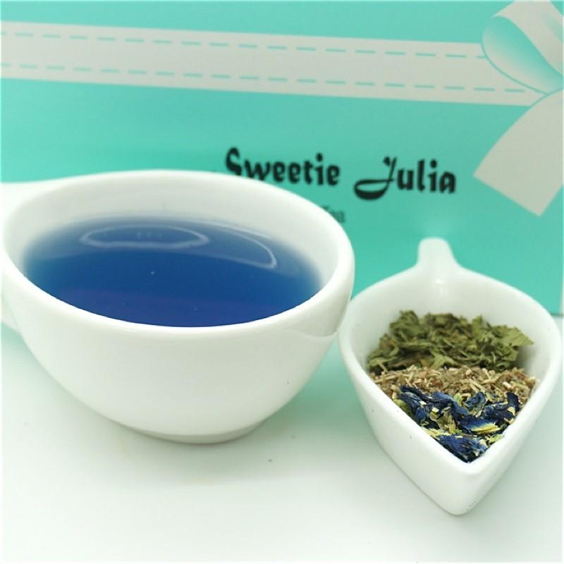Sweetie julia 茱莉亞藍玫瑰茶無糖零熱量四角平面茶包花草茶Blue Rose