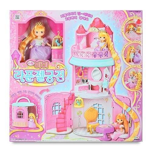 伯寶行代理~MIMI WORLD ~迷你MIMI 長髮公主城堡~芭比娃娃辦扮家家酒~