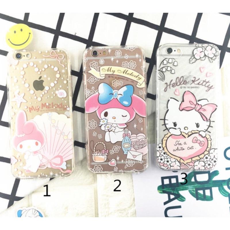 最後 kitty 美樂蒂iphone6 6plus iphone7 7plus 手機保護套