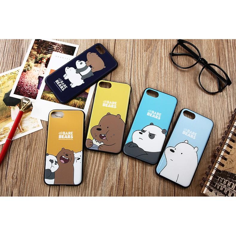 新品iPhone6 6plus 手機殼iPhone7 7plus 保護殼熊界三傻軟膠浮雕全