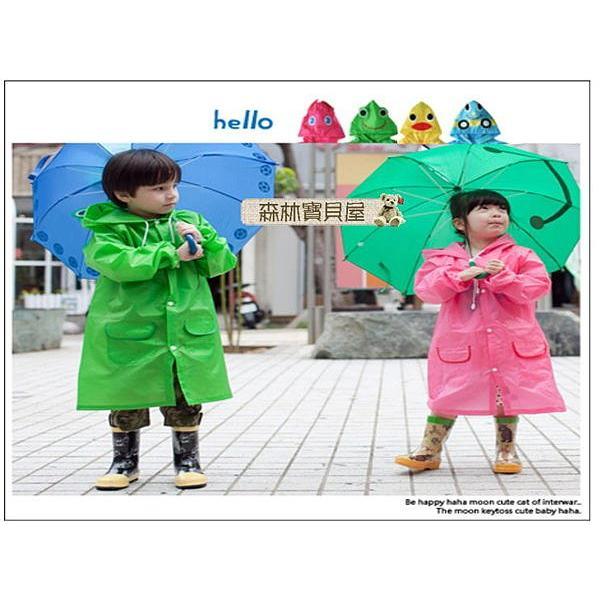 森林寶貝屋LINDA 男女童 可愛雨衣幼兒 雨衣寶寶雨披連身雨衣幼兒雨衣兒童雨衣5 款發售