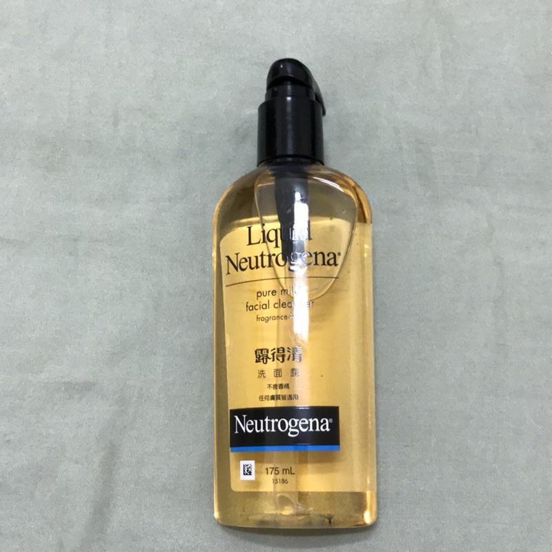 Neutrogena 露得清 無香精洗面露 洗面乳 不含香精