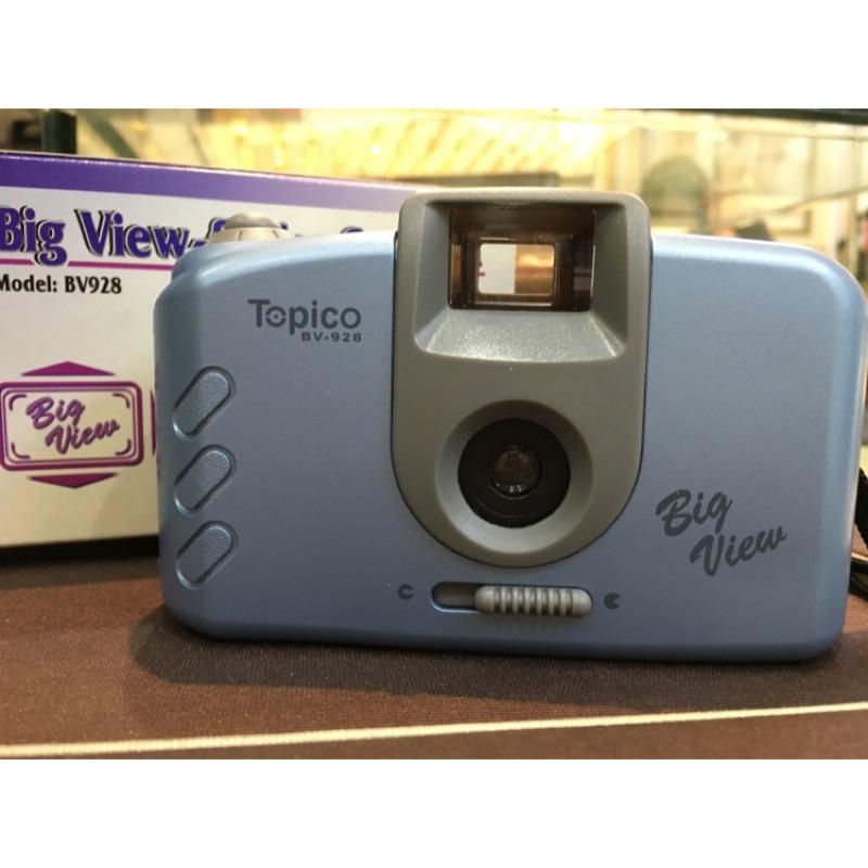 Big View finder Camera Topico 簡易免電池復古類拋棄式底片機