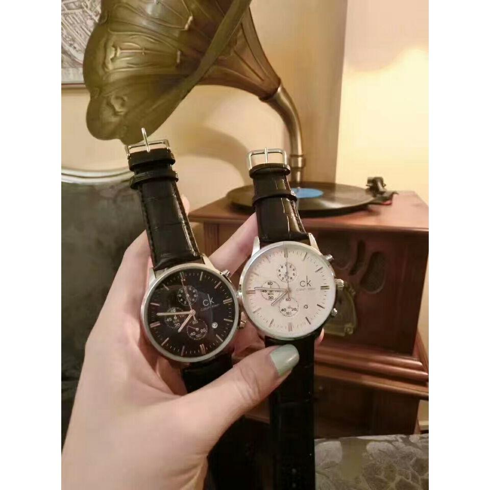 貨 CK 手錶男錶CITY 系列三眼計時夜光日曆石英男士腕錶CK 情侶對錶CK 女錶CK