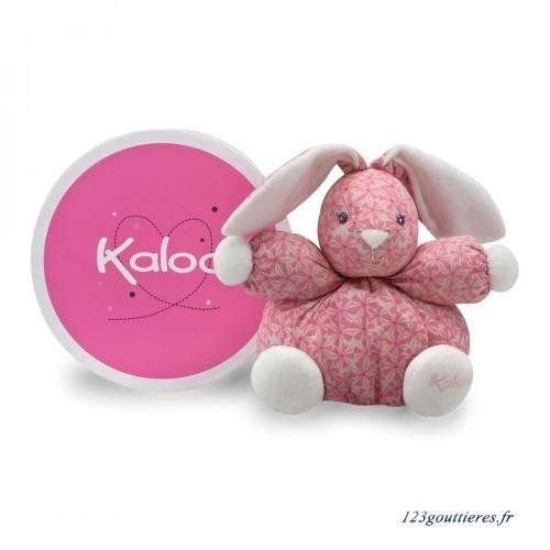 法國 KALOO PETITE ROSE 幾何印花 兔兔安撫玩偶