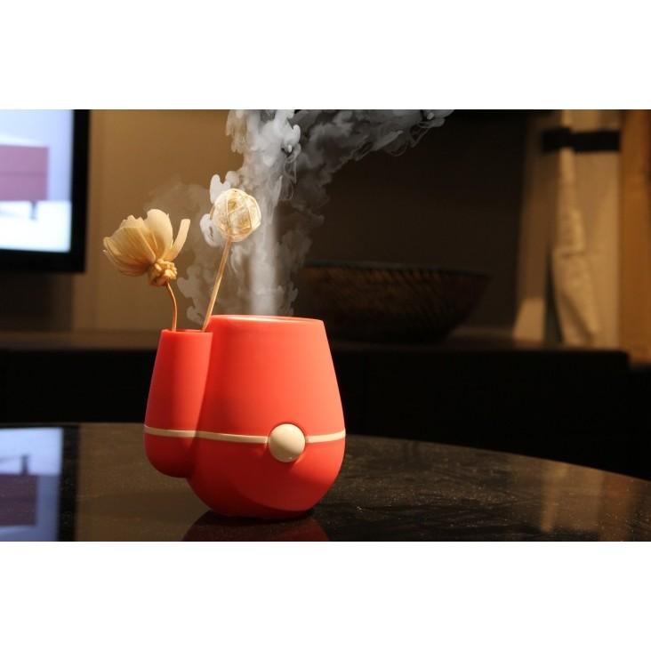 可愛花瓶usb 迷你加濕器靜音 辦公室桌面空氣小型加濕器