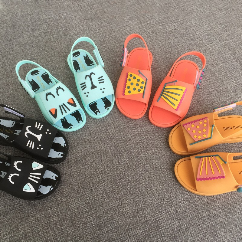 梅麗莎Melissa 涼鞋同款 蝴蝶男女果凍鞋儿童 凉鞋