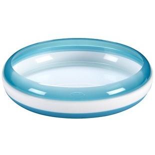 美國OXO tot 訓練盤防滑餐盤訓練碟藍色綠色橘色粉紅色擇一