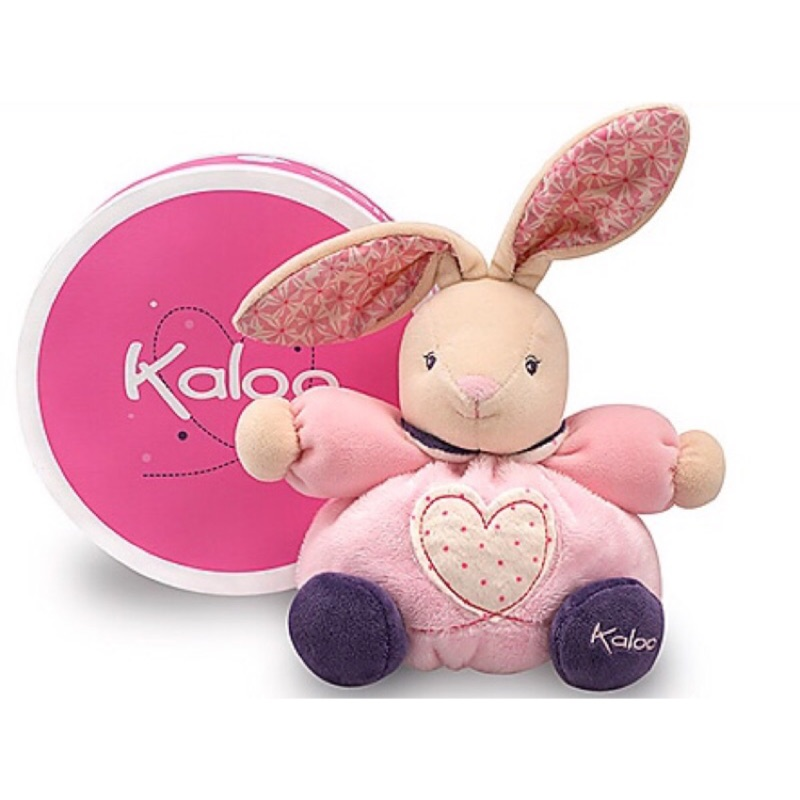 🌟正版🌟【 法國 Kaloo 】 PETITE ROSE Rabbit 愛心 兔兔 安撫玩偶(小型)