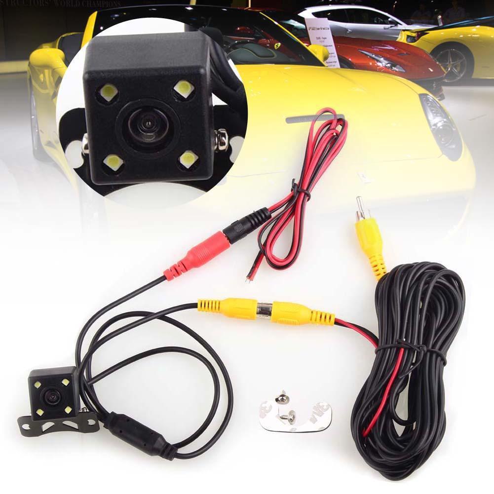 CCD LED 汽車備用倒車停車後視攝像頭