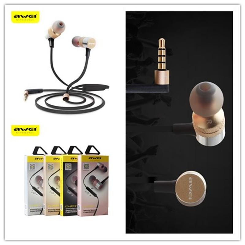 老闆衝 超低賣用維AWEI Q20TY 智能 立體耳機耳式耳機 款智能耳機 重低音跑步 藍