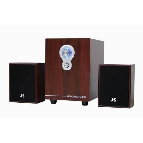 JS 淇譽電子2 1 聲道插卡全木質喇叭JY3080