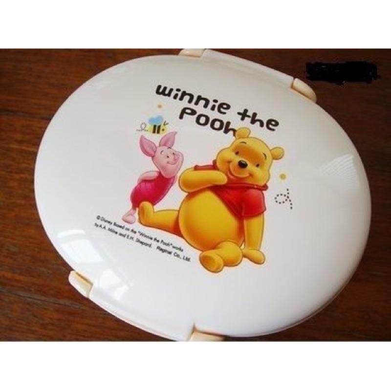迪士尼小熊維尼雙層便當盒內附湯匙、叉子S 9200A 多用途餐盒