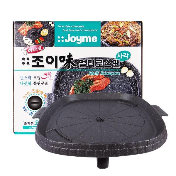 ~韓國忠清南道~韓國Joyme 方形排油烤盤多 韓國烤肉油切烤盤