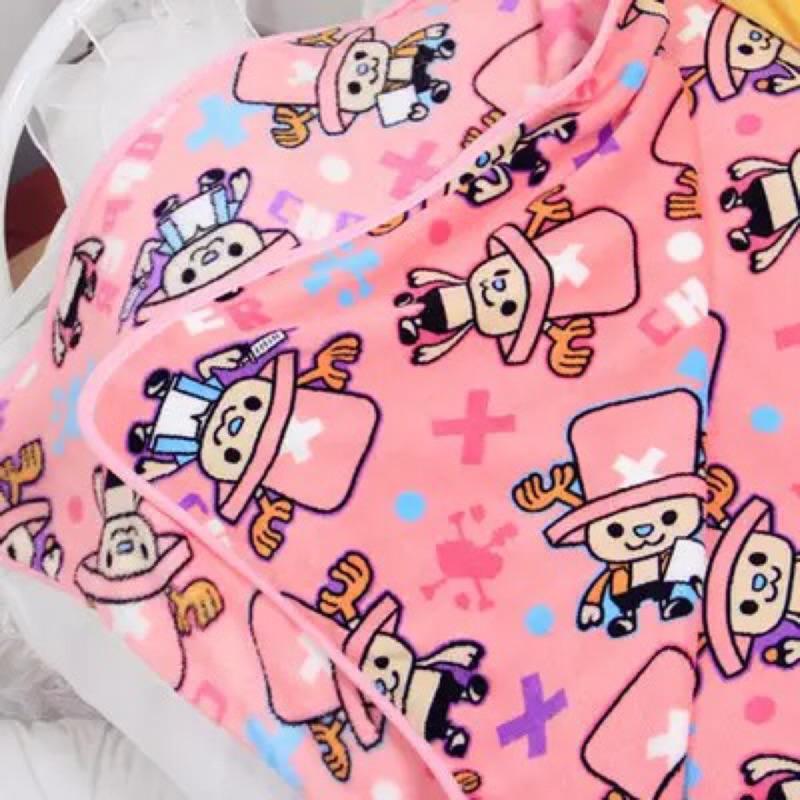 ~海賊王喬巴珊瑚絨毯子毛巾被午睡毯空調毯毛毯
