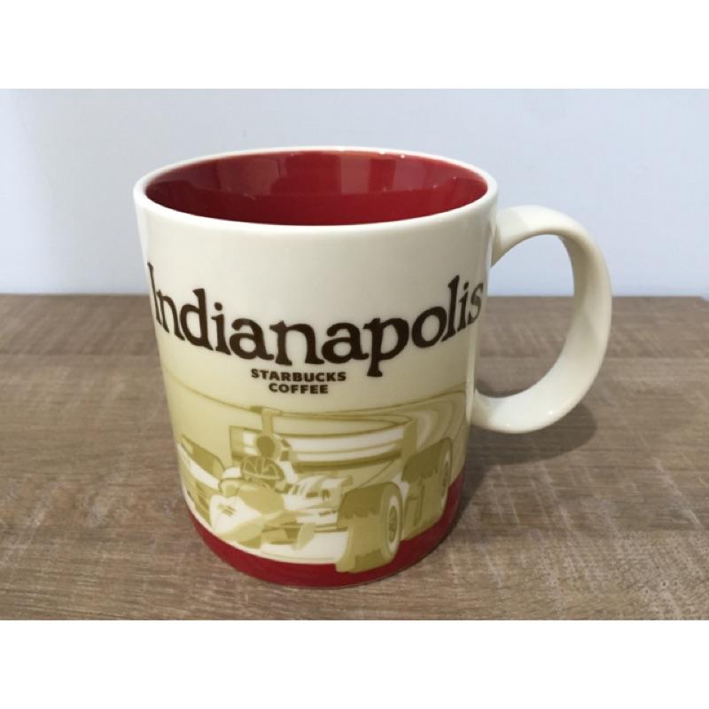 星巴克城市馬克杯Indianapolis 印第安納拿坡里