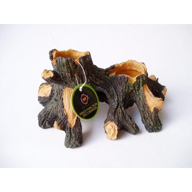 躲藏,繁殖,裝飾洞口可栽種植物超好看~仿真樹幹S YS 325S ~尺寸:約14 10 7