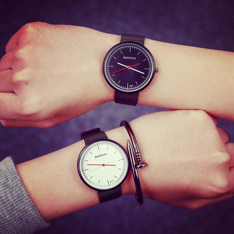 韓國 復古 商務簡約氣質百搭 潮男女中性中學生手錶