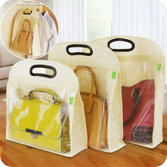 掛牆包包收纳袋男女皮包防塵袋衣橱衣柜收纳掛袋儲物包袋子