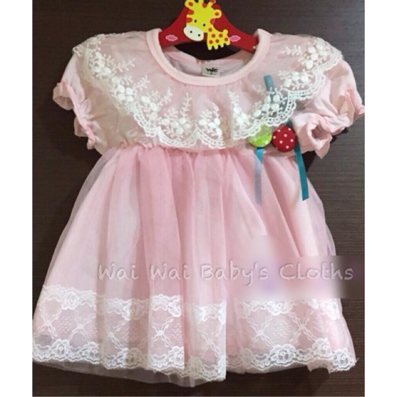 ~ ~小公主紗裙洋裝短袖